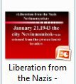 Liberation from the Nazis - Мироненко Валерия