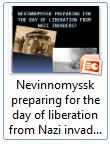 Nevinnomyssk preparing for the day of liberation from Nazi invaders - Фоменко
